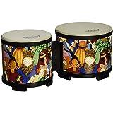 """Remo Rhythm Club Bongo Drum - Rhythm Kids, 5""""-6"""""""