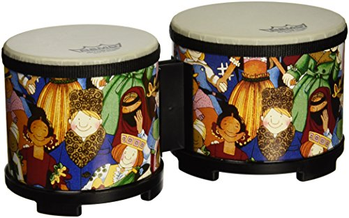 Remo Rhythm Club Bongo Drum - Rhythm Kids, 5