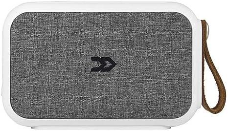 Avenzo AV648GR - Altavoz portátil con Bluetooth y NFCde 10 W, Color Blanco y Gris