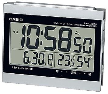 b17d3b1772 Amazon|CASIO (カシオ) 置時計 WAVE CEPTOR 電波時計 DQD-720J-8JF ...