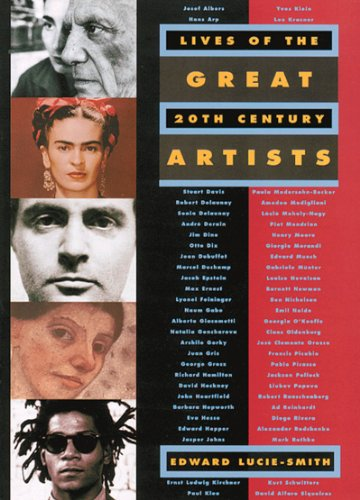Lives of the Great 20th-Century Artists (20th Artists Century American)