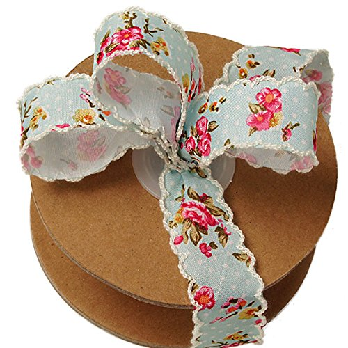 Vintage Floral Shabby Chic Ribbon - 1
