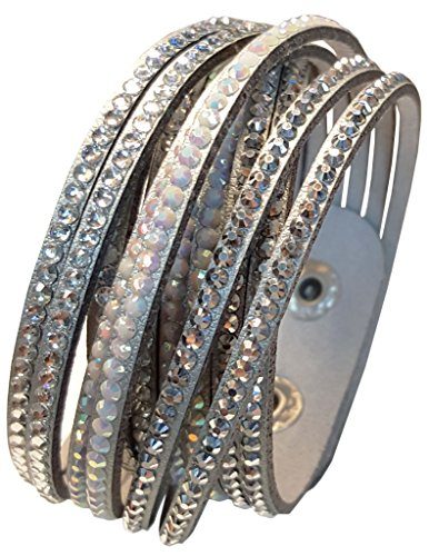 Jewelry Silver Wrap Around Bracelet - 7
