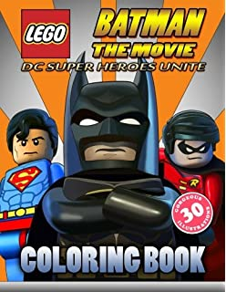LEGO BATMAN The Movie Coloring Book For Kids DC SUPER HEROES UNITE 2017 40