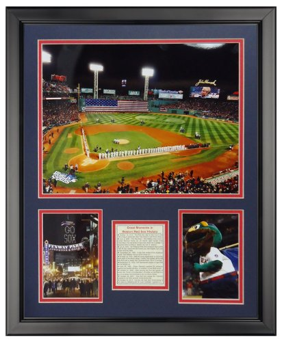 Legends Never Die Fenway Park - 2013 World Series Framed Photo Collage, 16