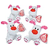 12 pcs Valentine Stuffed Dogs with Lollipops Characters - Best Reviews Guide