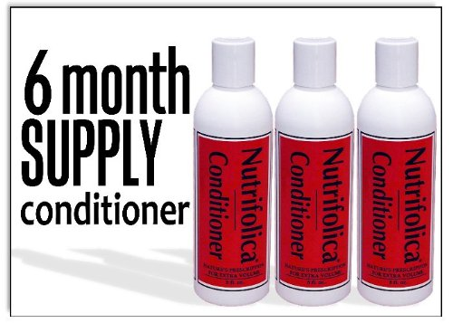 Price comparison product image Nutrifolica Hair Loss Volumizing Conditioner - 6 Month Supply