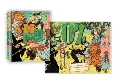 Wizard of Oz Puzzle: 500-piece puzzle