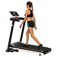 Folding Electric Treadmill Incline Motorized Running Machine Home Gym Exercise by ncient