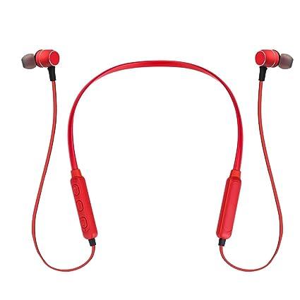 Sencillo Vida Auricular magnético Auriculares Bluetooth 4.1 Cascos inálambrico Deportivos, Sonido Estéreo Correr iPhone,