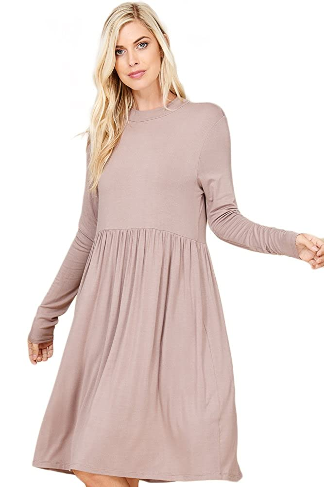 0989dd93b2c Top 10 wholesale Long Sleeve Mock Neck Midi Dress - Chinabrands.com