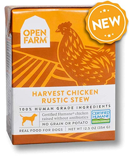Open Farm Wet Dog Food, Complete Meal or Food Topper with Responsibly Sourced Meat and Superfoods Without Artificial…