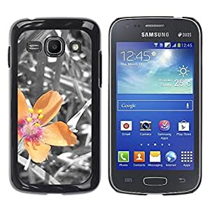Paccase / SLIM PC / Aliminium Casa Carcasa Funda Case Cover - Plant Nature Forrest Flower 40 - Samsung Galaxy Ace 3 GT-S7270 GT-S7275 GT-S7272