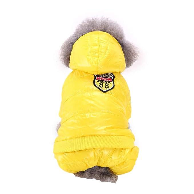 Hund Pullover f/ür Herbst Winter Sweater Gestrickter Pullover f/ür Kleine Hunde MCYs Warme Hundepullover
