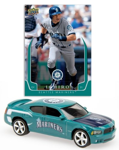 MLB 2008 Charger with An Exclusive Trading Card - Ichiro - Seattle Mariners