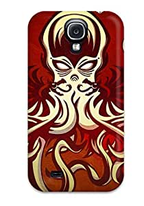 Top Quality Case Cover For Galaxy S4 Case With Nice Cthulhu Appearance