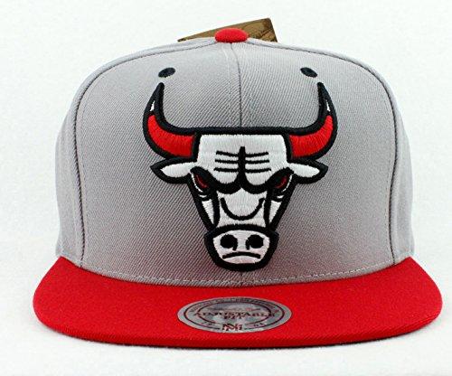 f682e35b408 Chicago Bulls Hat Mitchell   Ness Snapback Hat Custom Snapback Cap
