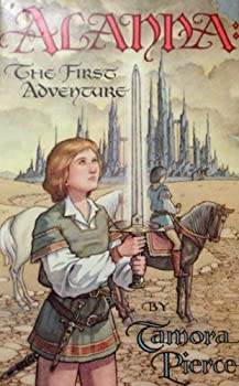 Alanna: The First Adventure Tamora Pierce science fiction and fantasy book and audiobook reviews Children Young Adult