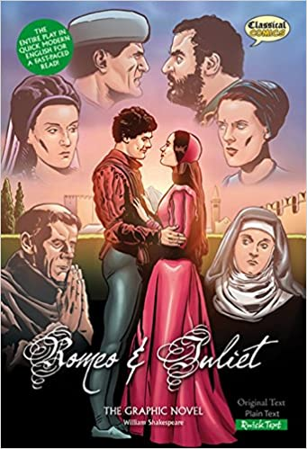 Romeo and Juliet Classical Comics : The Graphic Novel: Quick ...