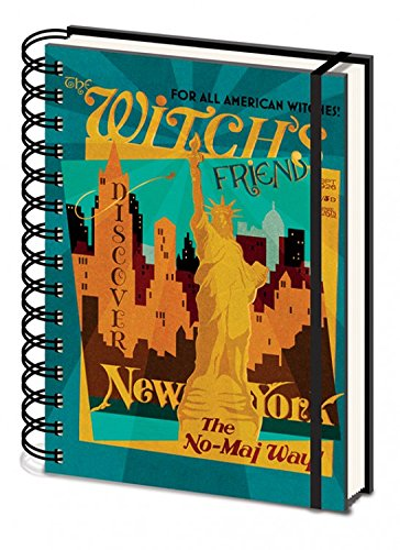 Les Animaux Fantastiques Carnet Bloc-Notes - The Witch's Friend, New York The No-Maj Way (21 x 15 cm) 1art1® 106518