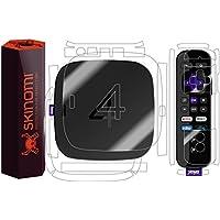 Roku 4 Full Body Skin, Skinomi TechSkin Full Coverage Skin Protector for Roku 4 Front & Back Clear HD Film