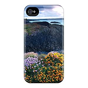 High Quality ConnieJCole Rocky Shore 3 Skin Case Cover Specially Designed For Iphone - 4/4s