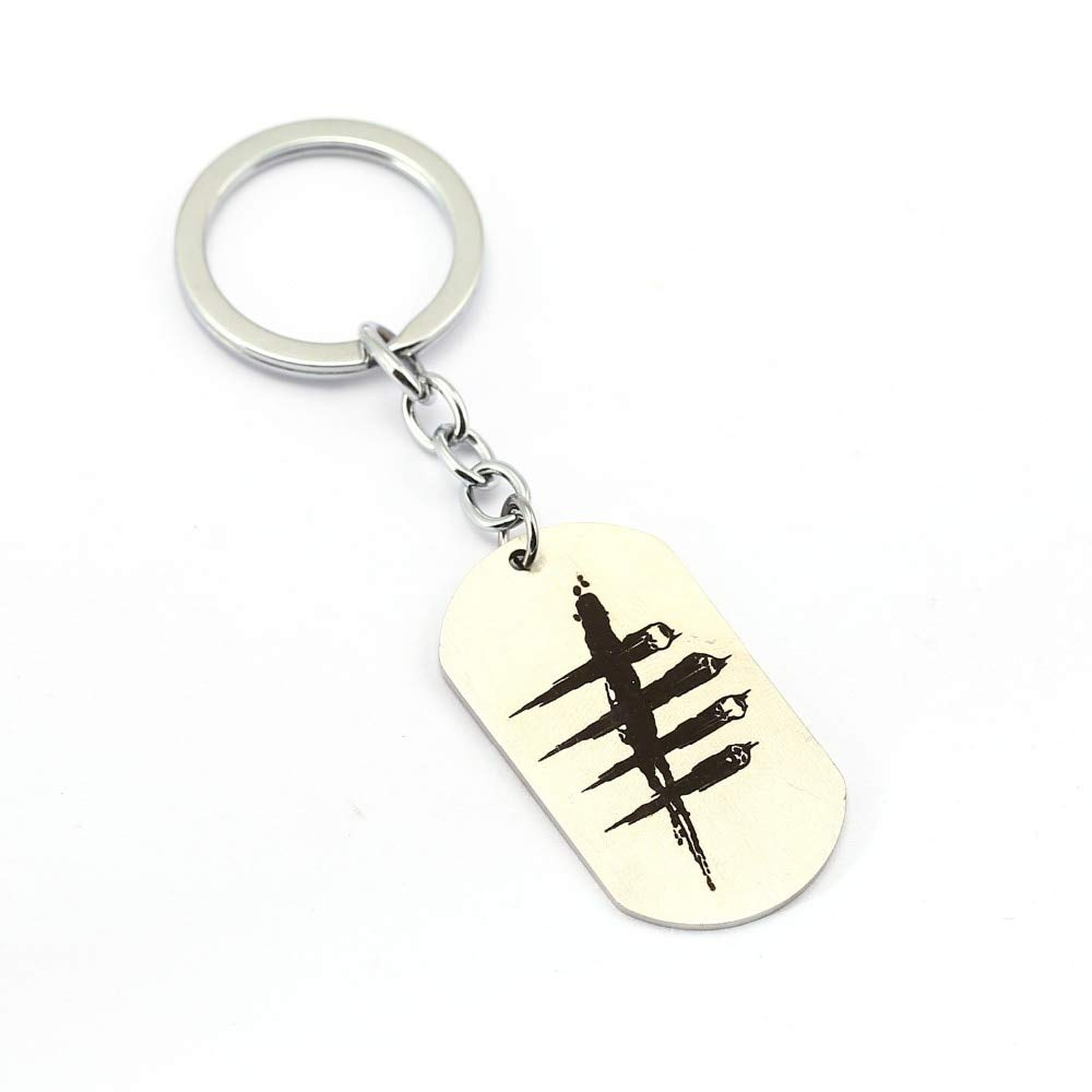 Amazon.com: Mct12 - MS Jewelry Dead by Daylight Keychain Men ...