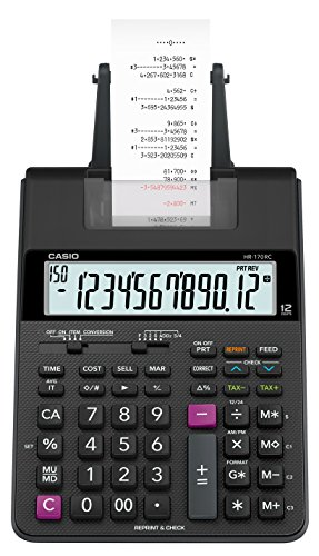 Casio HR-170RC Mini Desktop Printing Calculator by Casio (Image #2)