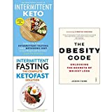 img - for Obesity code, the beginners guide to intermittent keto, intermittent fasting the complete ketofast solution 3 books collection set book / textbook / text book