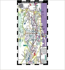 Streetwise Barcelona Metro Map Laminated Metro Map Of Barcelona