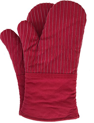 BIG RED HOUSE Oven Mitts, with the Heat Resistance of Silico