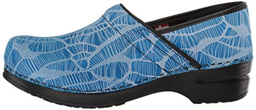 Women''s Blue Pro Original Applique' Clog Sanita UqxwdTnFBw