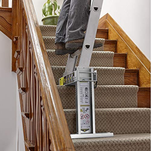 Ideal Security Inc. LA1 Aide for for Type 2 Ladders, The Safe and Easy Way to Work on Stairs, (Renewed)