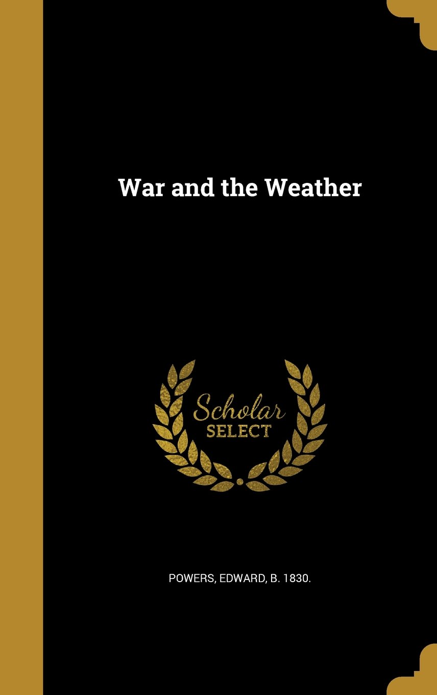 Download War and the Weather pdf epub
