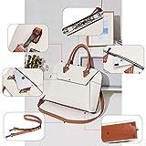 BOSTANTEN Women Briefcase Genuine Leather 15.6 inch