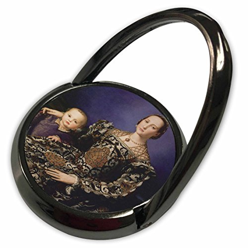 Medici Collection - 3dRose BLN Paintings of Children Fine Art Collection - Eleonora of Toledo with Giovanni de Medici by Agnolo Bronzino - Phone Ring (phr_169632_1)