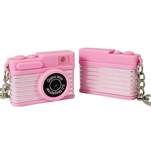 ZOOMY Mini Llavero para cámara de Juguete con Accesorios de ...