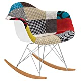 Poly and Bark Patchwork Rocker, Multicolor