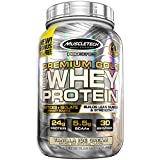 MuscleTech Premium Gold 100% Whey Protein, Premium Whey Protein Powder, Instantized and Ultra Clean 100% Whey Protein, Vanilla Ice Cream, 35.2 Ounce For Sale