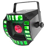 CHAUVET DJ Cubix 2.0 LED Derby/Moonflower Stage Light | Special Effects
