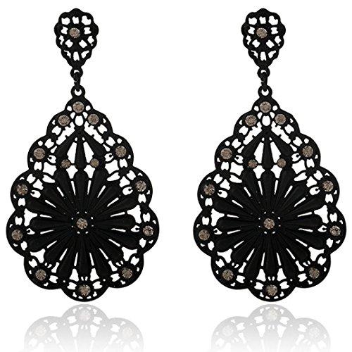 Euone%C2%AE Fashion Elegant Rhinestone Earrings product image