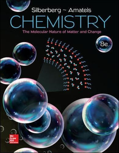 Chemistry: The Molecular Nature of Matter and Change cover