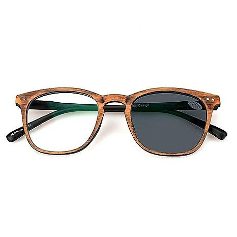 Z&HA Gafas de Lectura con Cambio de Color - Gafas de Resina ...