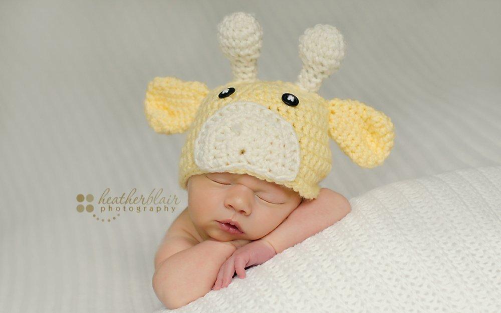 Baby boy hat, baby girl hat, crochet giraffe hat, giraffe, photo prop, baby shower gift, coming home outfit, giraffe nursery, crochet