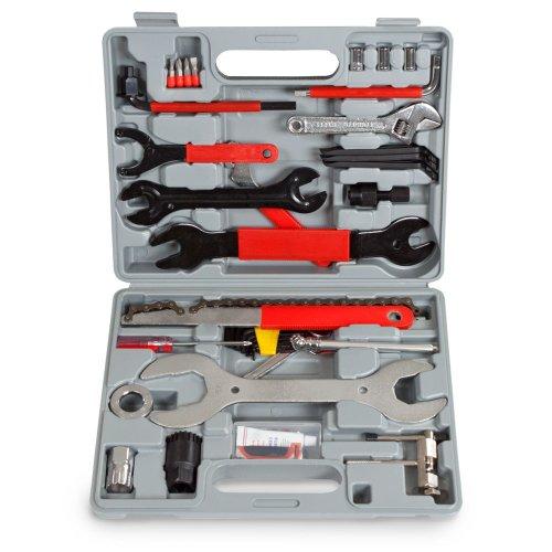 TecTake® 44tlg. Fahrrad Werkzeug Tool Set im Werkzeugkoffer