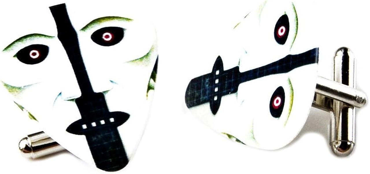 Quality Handcrafts Guaranteed Pink Floyd Guitar Pick Cufflinks