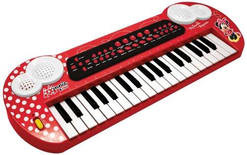 Reig/minnie - 5252 - Clavier Avec Connection Et Entrée Mp3 - Minnie