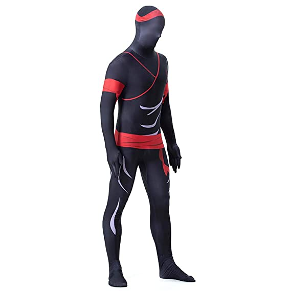 Ropa De Hombre Cosplay Ninja Print Jumpsuit Medias Disfraz ...