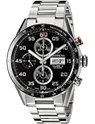 TAG Heuer Mens CV2A1R.BA0799 Stainless Steel Watch