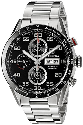 Tag Heuer Chronograph Wrist Watch - TAG Heuer Men's CV2A1R.BA0799 Stainless Steel Watch